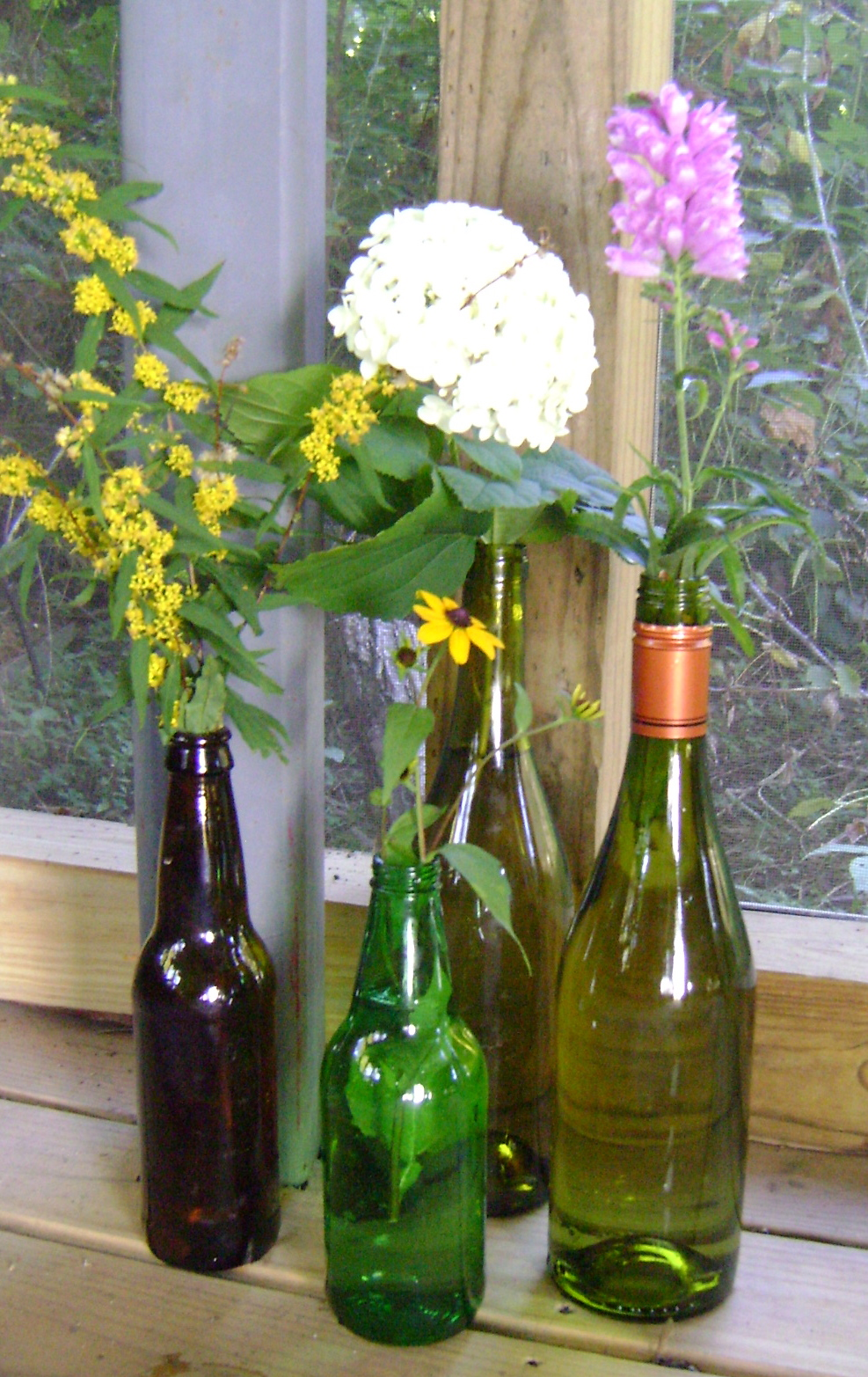 301 moved permanently for Wine bottle vase ideas