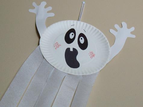 Halloween Craft Ideas Construction Paper on Materials  Paper Plate  Streamers  Construction Paper  Markers  Yarn