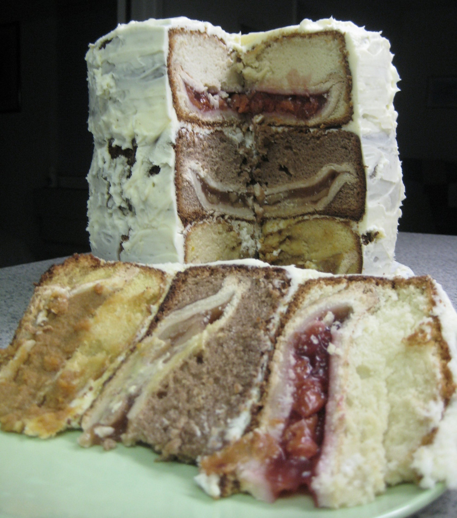 Triple-layer Cake? Pie?