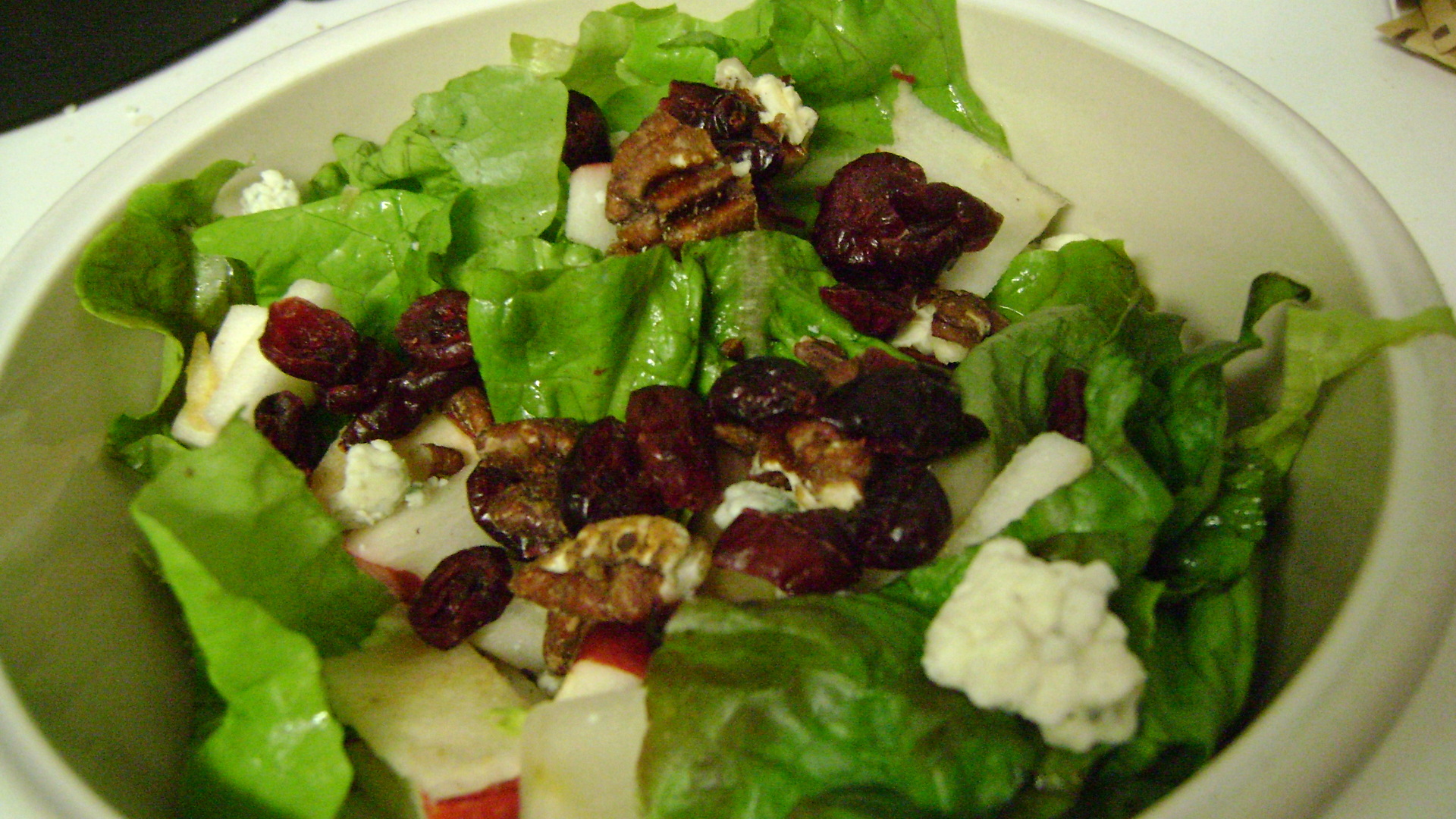 Quick lunch a creative salad little miss redhead for Salas lunchs