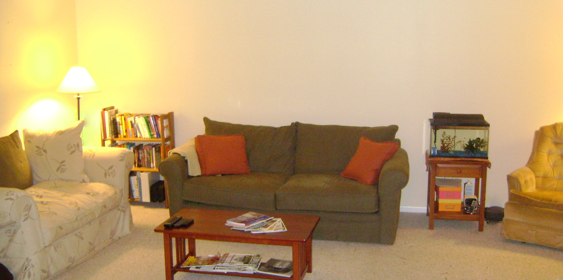 Living Room Feng Shui Before After Little Miss Redhead